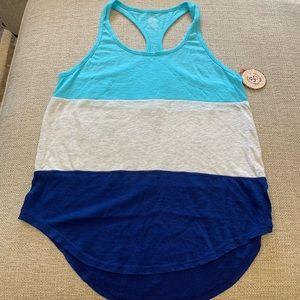 Women's workout tank top size L
